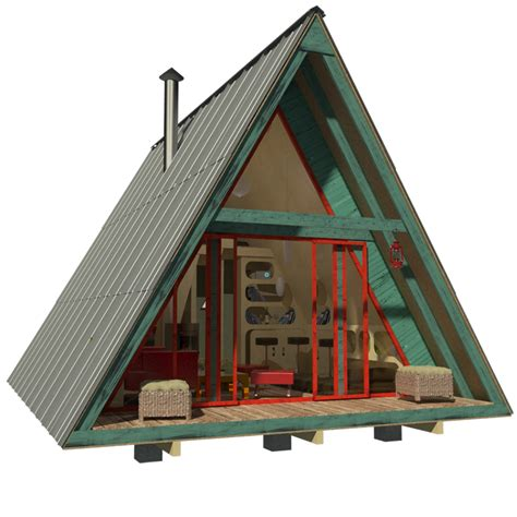 a frame building plans here 39 s a menu of tiny houses for your weekend diy project