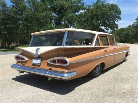 Chevrolet College Station by 1959 Chevrolet Rod Station Wagon Chevy Parkwood