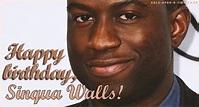 Sinqua Walls's Birthday Celebration | HappyBday.to