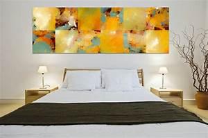 Tableau Pour Chambre Adulte : tableau peinture pour chambre a coucher ~ Melissatoandfro.com Idées de Décoration