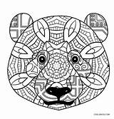 Panda Coloring Pages Adults Printable sketch template