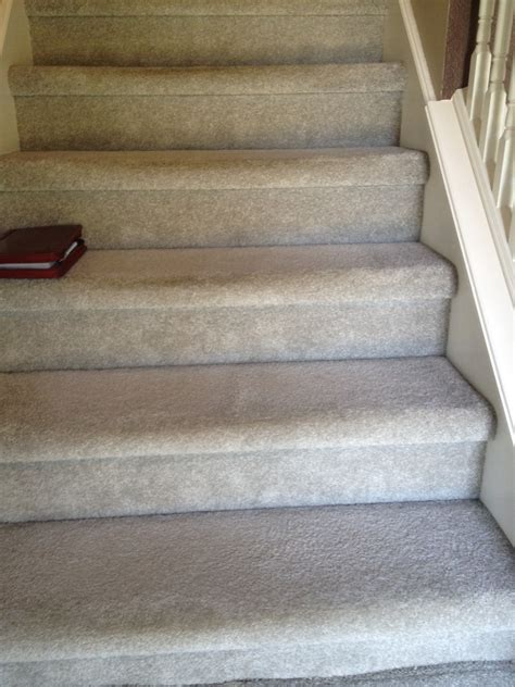 carpet on stairs carpet on stairs not installed correctly indianapolis carpet repair re installed it all