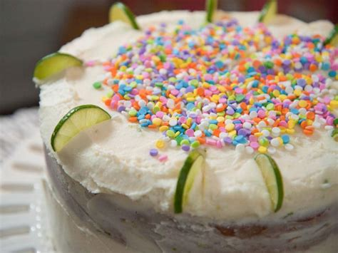 Remove from the heat and stir in the vanilla. Key Lime Vanilla Birthday Cake Recipe | Trisha Yearwood ...