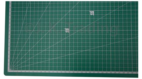 Metric And Imperial Cutting Mat