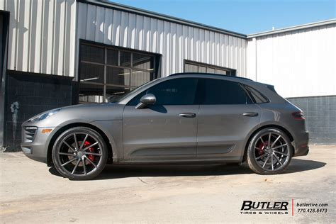 porsche macan   vossen cvt wheels exclusively