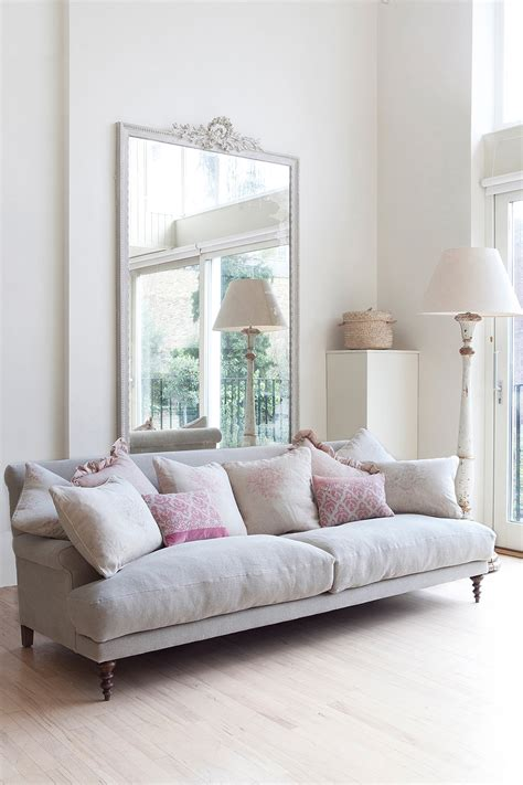 Pale Pink Sofa by 8 Of My Favourite Paints Kate Forman