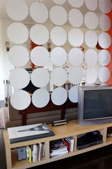 Vinyl Bookcase by 24 Fantastic Diy Room Dividers To Redefine Your Space