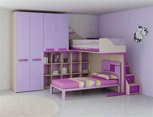 Lit Mezzanine Pour Enfant : avez vous pensez au lit mezzanine 1 place pour votre enfant ~ Teatrodelosmanantiales.com Idées de Décoration