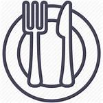 Lunch Icon Icons Dinner Eating Expenses Break