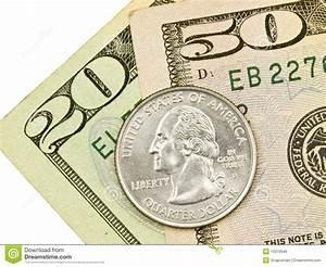 Close Up Money Royalty Free Stock Photos