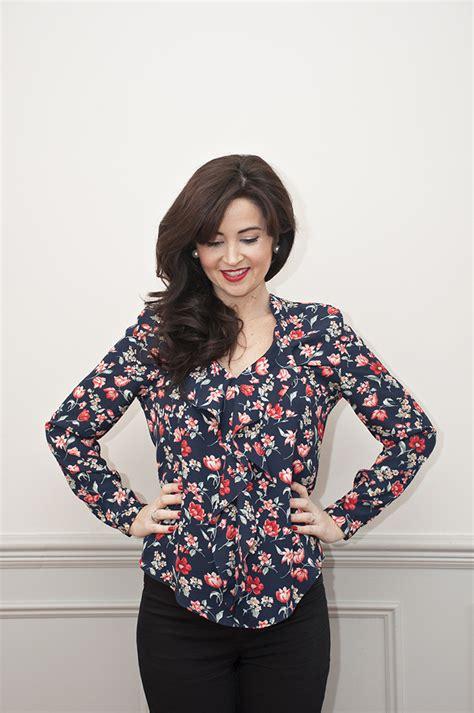 sew   juliette blouse  sewing pattern sew