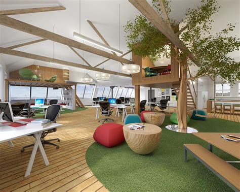 Funky Workspaces With Artistic Flair : Creative Workspace Design