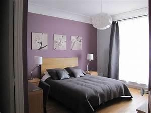 ophreycom chambre mauve gris et blanc prelevement d With chambre mauve et grise
