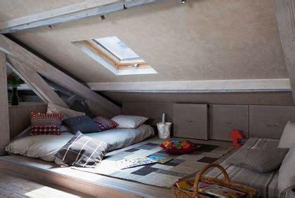 chambre sous les toits installer une chambre sous les toits 9 photos pour