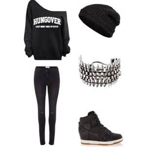 Cute Edgy Outfits Polyvore