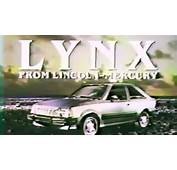 &187 1981 Mercury Lynx Commercial