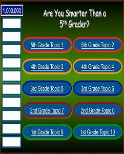 download smarter than a 5th grader game template for free With are you smarter than a 5th grader powerpoint template