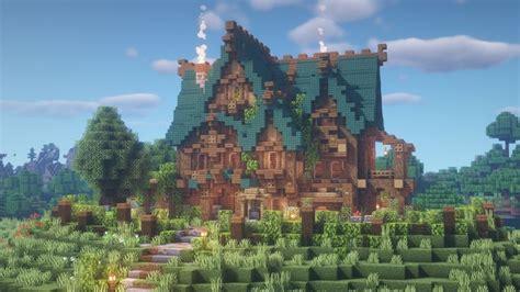 goldrobins mansion   finished minecraftbuilds minecraft mansion minecraft cottage