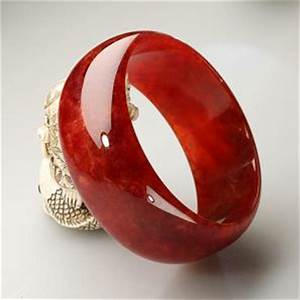 Solid Red Jade Bangle 700 To 900
