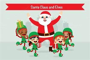 Santa Claus And His Elves U00bb Designtube Creative Design