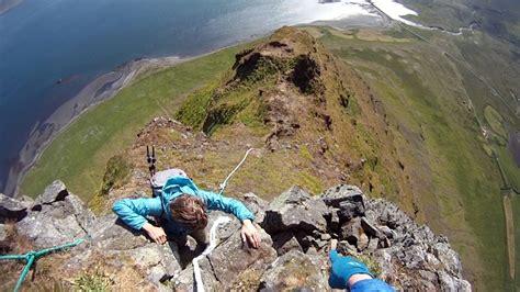 Climbing Kirkjufell Youtube