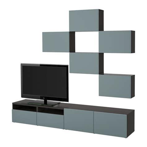 best 197 combinaison meuble tv brun noir valviken gris