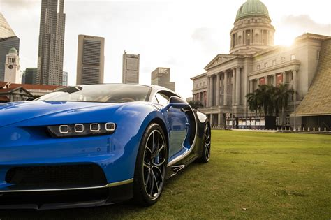 Well it depends what bugatti you are referring to. Bugatti Chiron lands in Singapore but owner can't drive it ...
