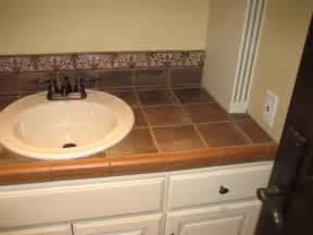 bathroom tile countertop ideas garret home remodel with ceramic tile mediterranean bathroom los angeles by