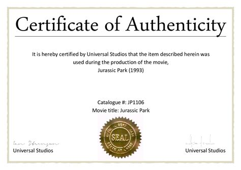 Certificate Of Authenticity Template Photography Certificate Of Authenticity Template Best