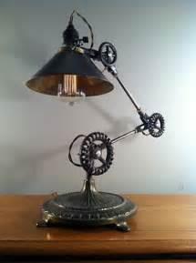 Vintage Industrial Steampunk Lamp