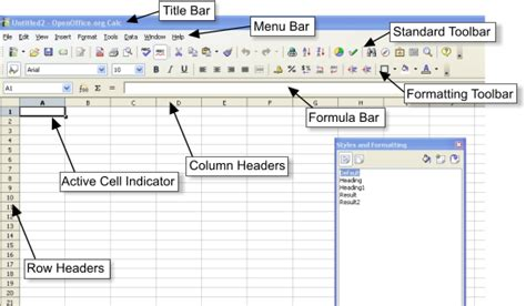 differences    calc  excel apache