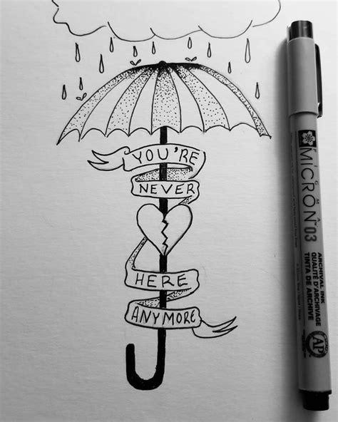 npen oldschooltattoo tattoo inkedmen sketch umbrella