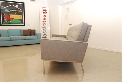 florence knoll sofa vintage classic design before after vintage florence knoll sofa