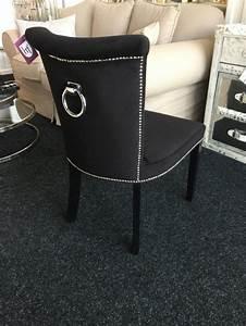 Stuhl Mit Ring : stuhl anthrazit gepolstert stuhl mit einem ring landhaus style m bel esszimmer st hle ~ Frokenaadalensverden.com Haus und Dekorationen