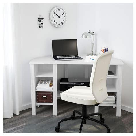 Corner Bedroom Bureau by Brusali Corner Desk White Ikea In 2019 Ideas For The