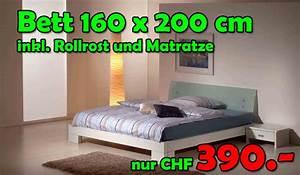 Bett 160 X 200 : bett komplett 160x200cm inkl 2 nachttische lattenrost und matratze nur fr 390 ~ Eleganceandgraceweddings.com Haus und Dekorationen