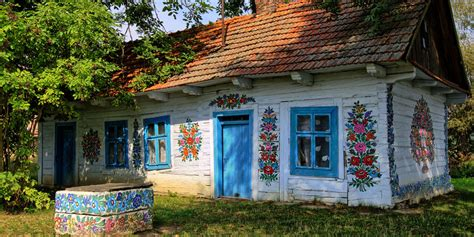 Poland's Colourful Painted Village In Zalipie Is Charming