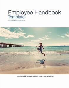 employee handbook apple iwork pages numbers With employee handbook cover page template