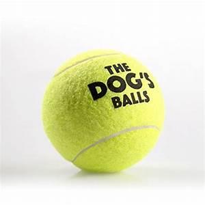 The Dog's Balls - 12 Tennis Balls, Strong Dog Tennis Ball ...