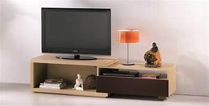 Meuble Tv Extensible : meubles tv meubles debily ~ Teatrodelosmanantiales.com Idées de Décoration