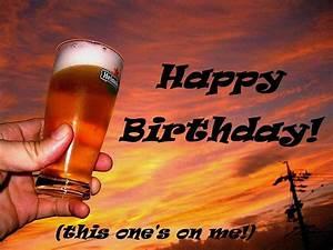 Happy Birthday Beer Wishes