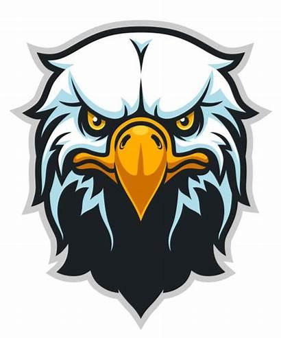 Mascot Eagle Clipart Naga Vektor Samurai Zombie