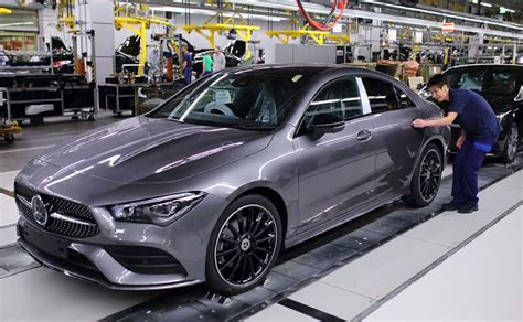 2020 mercedes benz cla new compact four door coupe. Mercedes-Benz Commences Production Of The 2020 CLA Coupe ...