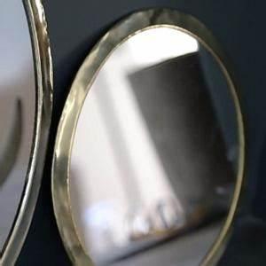 Miroir Rond Laiton : miroirs avec cadre en laiton couleur or ~ Teatrodelosmanantiales.com Idées de Décoration