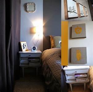 decoration chambre tons lin cafe et dore crealididom With déco chambre bébé pas cher avec the vert fleur de cerisier