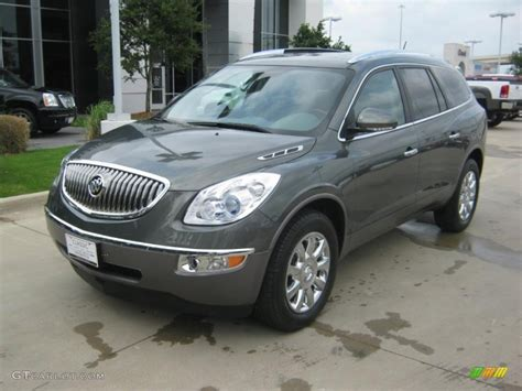 2011 Buick Enclave Colors by 2011 Silver Green Metallic Buick Enclave Cxl 48460808