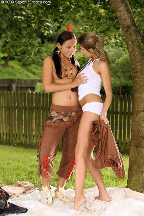 sapphicerotica lesbian zoe devin cowgirl seduces hot native american nude gallery