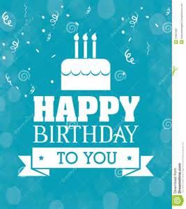 birthday card design happy birthday card design stock vector image 51852480
