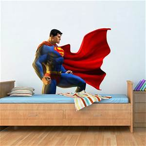 best superman wall decals products on wanelo With superman wall decal