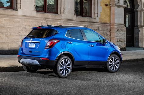 Buick Encore by 2017 Buick Encore Refreshed At New York Auto Show